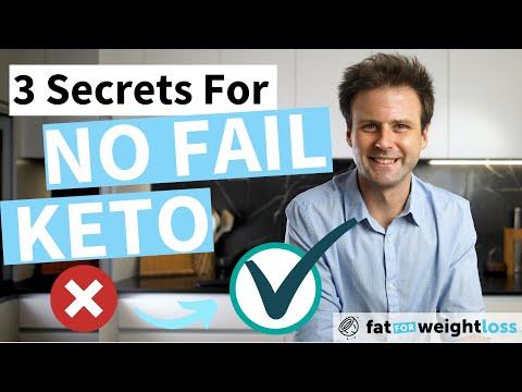 , title : '3 Secrets For No Fail Keto (Don't Break These Rules)
