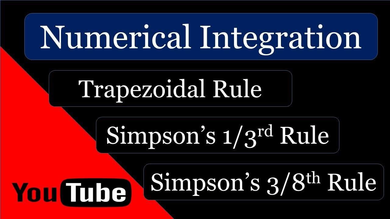 Numerical Integration Video Lectures