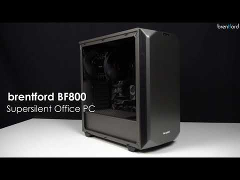 BF800 Supersilent Office PC