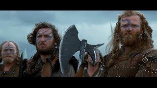 Войско англичан. Шотландцы покидают поле боя. Прибытие Уильяма Уоллеса. HD