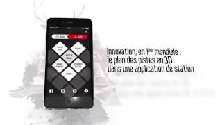 Application mobile de service pour domaine skiable