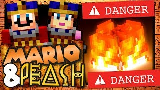 MARIO ET PEACH EN EGYPTE EPISODE 5 | ATTENTION AU FEU !!!!