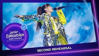 Poland 🇵🇱   Viki Gabor   Superhero   Second Rehearsal   Junior Eurovision 2019