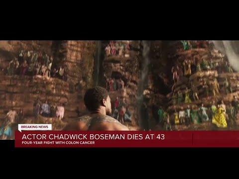 Actor Chadwick Boseman dies at 43