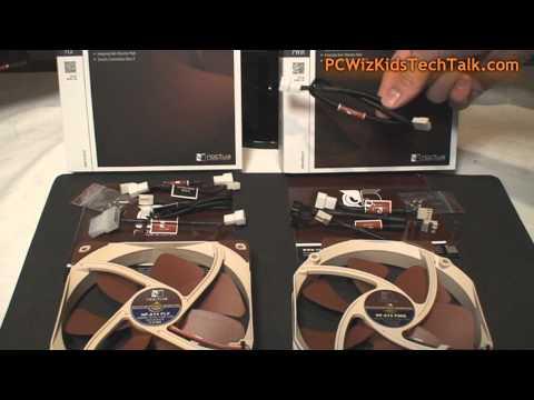 Noctua NF-A14 Flx and NF-A15 Premium Fans Review - PCWizKid