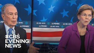 Bloomberg takes aim at Sanders after debate