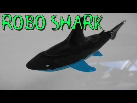 """RC ROBO SHARK FERNGESTEUERTER FISCH"" -Vorstellung"