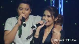 KathNiel - Everything Duet - KathNiel Live in Dubai January 1, 2015