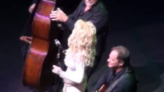 Dolly Parton and band perform a medley of protest songs in Edmonton, AB Canada