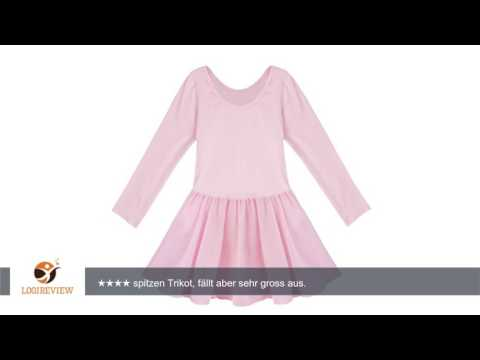 iEFiEL Kinder Mädchen Ballett Kleid Flügelärmel Kinder Ballettkleidung Ballettanzug Trikot Tanzkleid