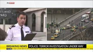 Police tell public to avoid Parliament Square and other areas of London following terror incident