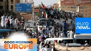 Hundreds More Protesters Join Demonstrations In Sudan's Capital