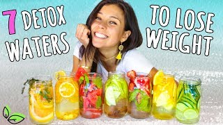 7 DETOX WATERS FOR WEIGHT LOSS!💦Yovana