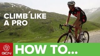 Climb Like a Pro - Tips On Cycling Up Hills