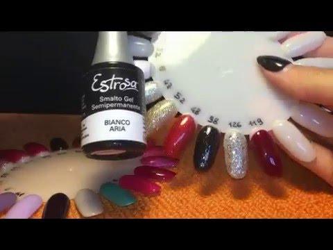 Recensione colori semipermanente Mesauda, Estrosa, Passione unghie