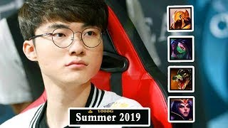 Only FAKER Can Do All Of This in One Split !