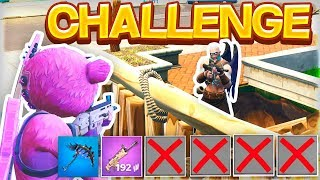 1 VÅBEN FORTNITE CHALLENGE!! ✅ (DANSK FORTNITE)