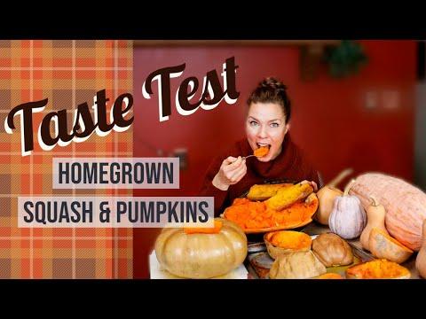 , title : 'Homegrown Pumpkin and Winter Squash Taste Test