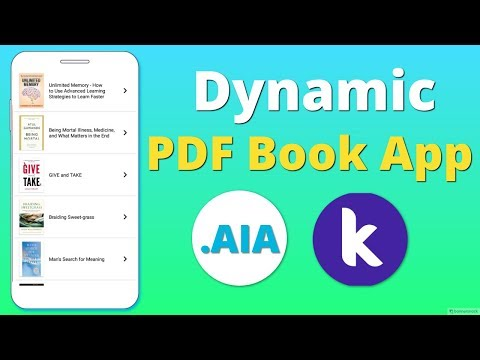Thunkable Extensions: Create PDF Files (with  aia file