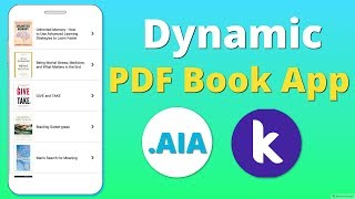 In App PDF Viewer Extension for Kodular , Thunkable , Appybuilder