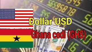 Dollar ( USD ) to Ghana cedi ( GHS ) ( Ghanaian Cedi exchange rates )