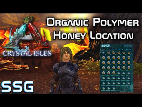 Steam Community Video Ark Crystal Isles Honey And Organic Polymer Location Seeshellgaming I show you all the where to get organic polymer in ark genesis in this video i will be showing you where to get. ark crystal isles honey