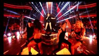 Jessie J live at Dancing With The Stars - Bang Bang + Burnin' Up