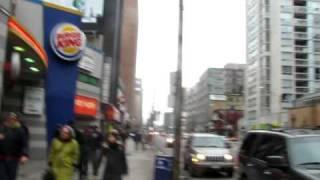 preview picture of video 'Eglinton Avenue - Toronto'
