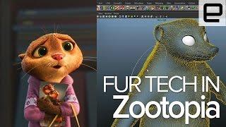 Zootopia's Fur Technology