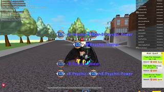 roblox super power training simulator how to train psychic fast