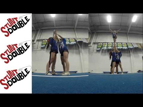 Stunt Double Double Base Side-by-side of Lib
