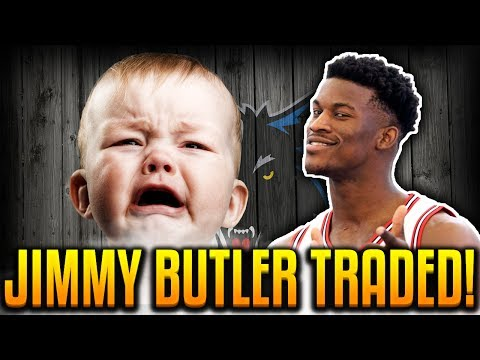 JIMMY BUTLER TRADED TO THE TIMBERWOLVES! 😭 SAD BULLS FAN REACTS!