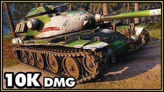 T95E6 - 10K Damage - World of Tanks Gameplay