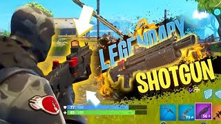 *EARLY GAMEPLAY* New HEAVY SHOTGUN in Fortnite: Battle Royale