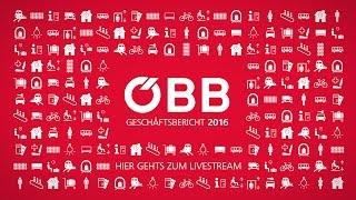 Aufzeichnung der Pressekonferenz zur ÖBB-Bilanz 2016