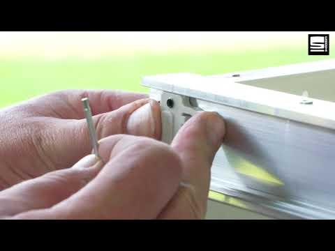 SWAN Slide & Go montage met metalen top en zijpanelen