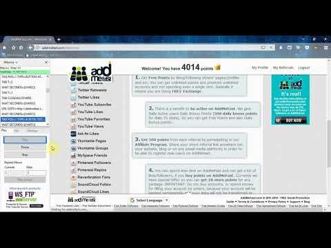 AddMeFast Imacros script Bot for Free - 2019 (Facebook Auto