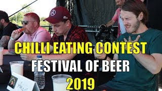 Festival of Beer - Chilli Eating Contest