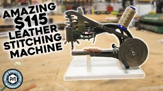 $115 Leather Stitching Machine (AMAZING)