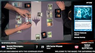 Pro Tour Fate Reforged Quarterfinals (Modern): Jelger Wiegersma vs. Jacob Wilson