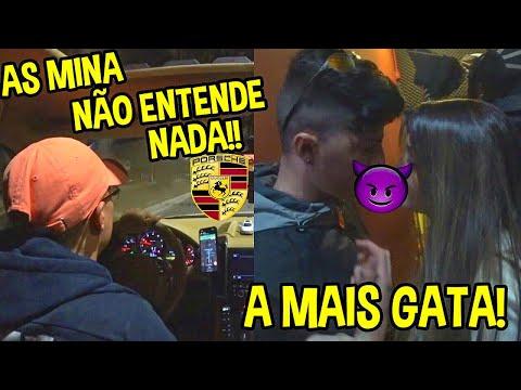PEGUEI A MAIS GATA NO BAILE DO MÍTICO & ROLÊ DE PORSCHE COM MC MENOR MR!!