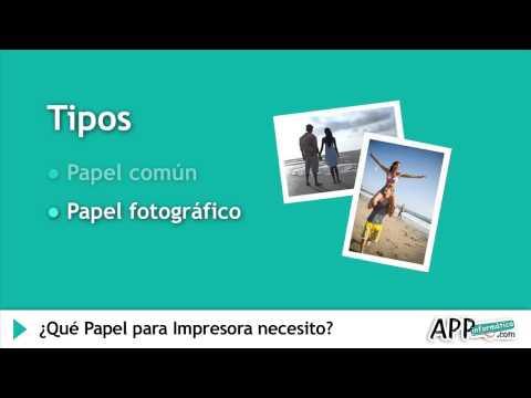¿Qué Papel para Impresora necesito?   l APPinformatica.com