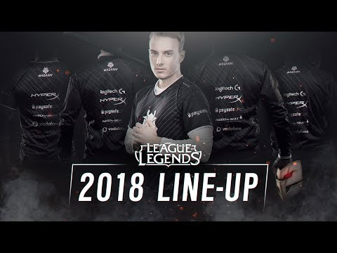 Our League of Legends EU LCS Line-up for 2018