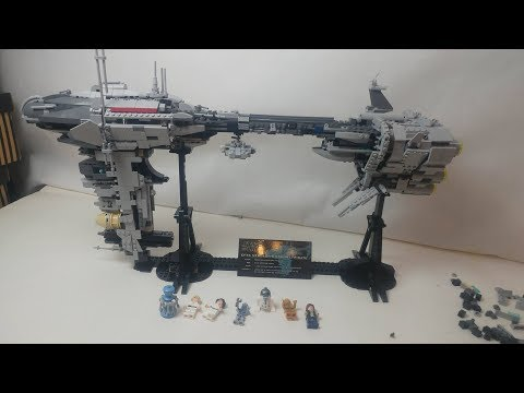 Конструктор Lp «Небулон-Б Медицинский фрегат» 05083 (Star Wars) / 1736 деталей