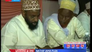 Garissa governor Nathif Jama pleads with residents to maintain peace during the general elections