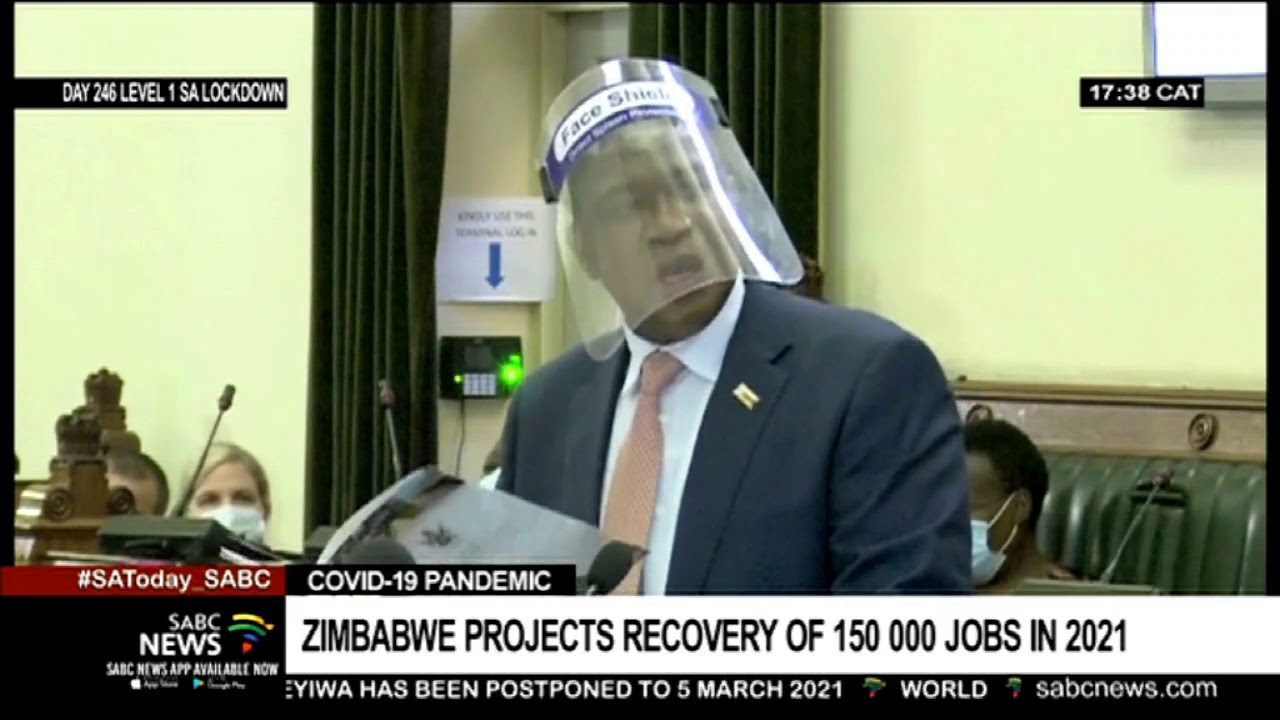 Zimbabwe's Financing Minister predicts a healing of 150 000 tasks in his 2021 spending plan thumbnail