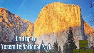 Yosemite National Park-Scenic Drive through the Yosemite National Park