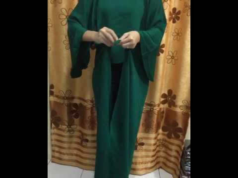 Video Tutor Cara Pemakaian Kaftan Ikat by Mufida Boutique
