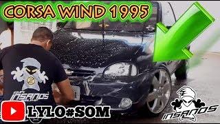 Corsa Wind 95 Com Para-choque Do 2001 Preto Roda 17 Montana + Gol G4 Bbs Aquele Talento