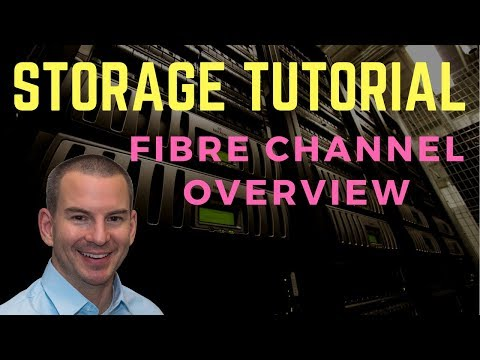 Fibre Channel SAN Storage Overview Tutorial Video